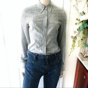 Escada New Wool Lightweight Button-down Shirt